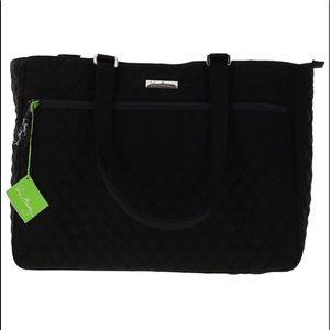 Vera Bradley Work tote handbag in classic black